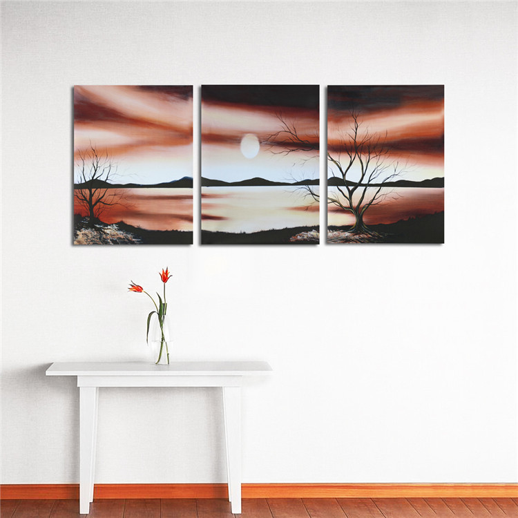 Huge Unframed Modern Abstract Wall Decor Art Painting on Canvas  (No Frame)