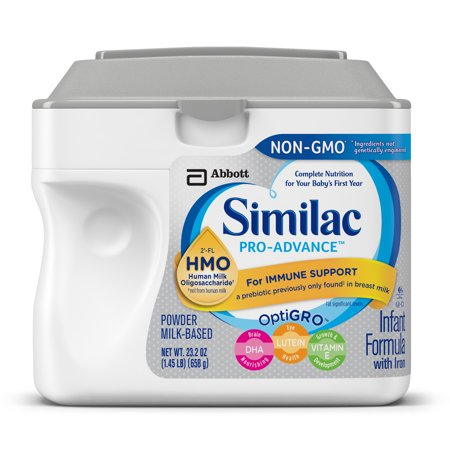 Similac Pro Advance Infant Formula With 2 Fl Human Milk Oligosaccharide  Hmo  For Immune Support  23 2 Ounces  Pack Of 4