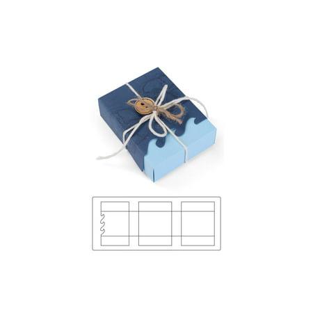 Sizzix SSowell Bigz XL Die Box Wave Border (Memory Box Dies Border)