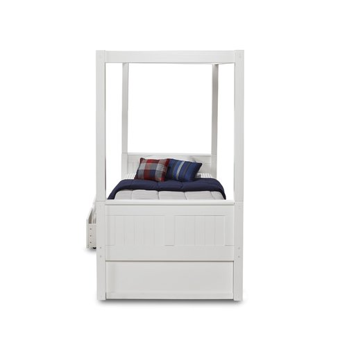 sc 1 st  Walmart & Harriet Bee Oakwood Canopy Bed with Drawers - Walmart.com