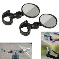 EEEKit 2-pack 360° Rotatable Flexible Handlebar Rearview Mirror for Bike MTB Bicycle Cycling Mirror Accessories(1Pair)