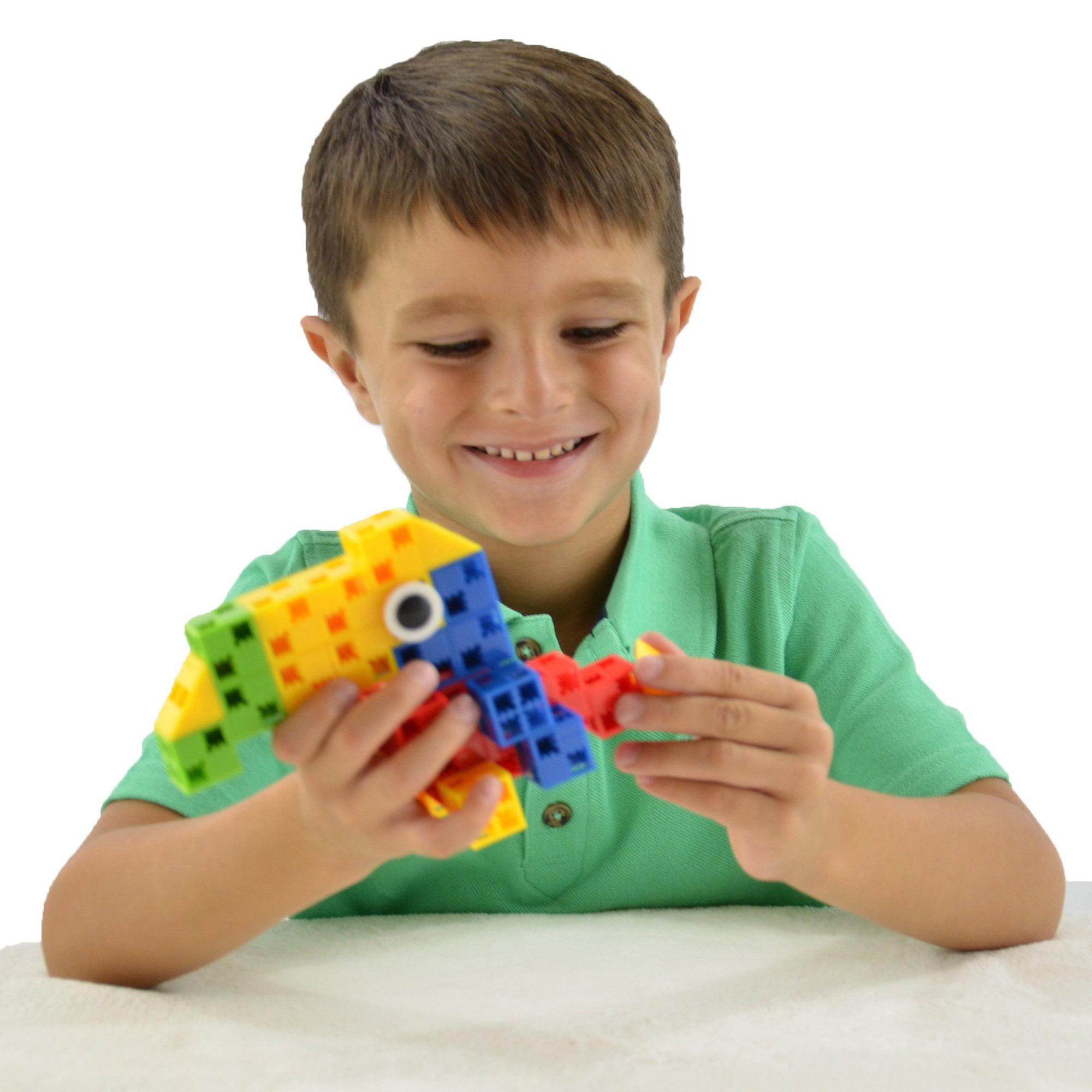 Click-A-Brick Feather Friends 30Pc Building Blocks Set ...