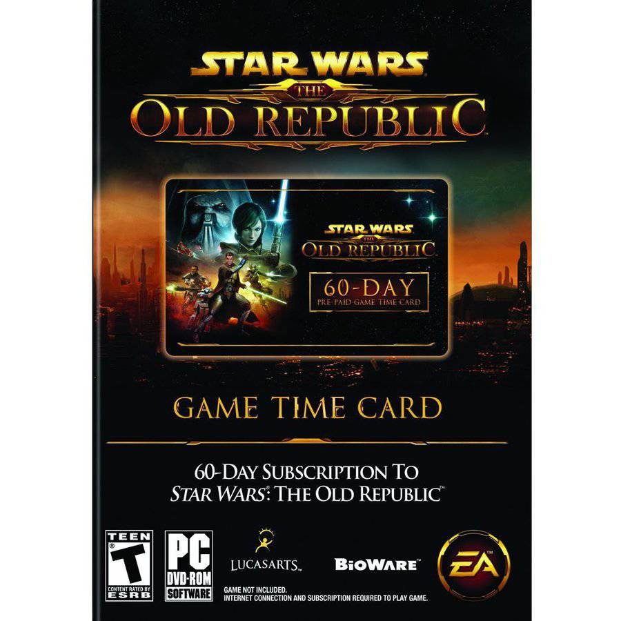 Star Wars The Old Republic Time Card (PC/ Mac)