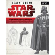 Licensed Learn to Draw: Learn to Draw Star Wars: Learn to Draw Favorite Characters, Including Darth Vader, Han Solo, and Luke Skywalker, in Graphite Pencil (Paperback)