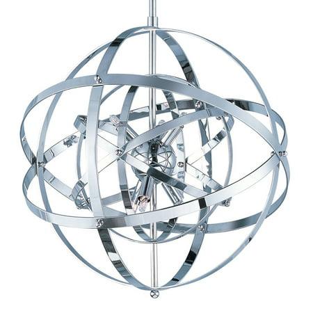Maxim Lighting Sputnik - Six Light Pendant, Polished Chrome Finish ()