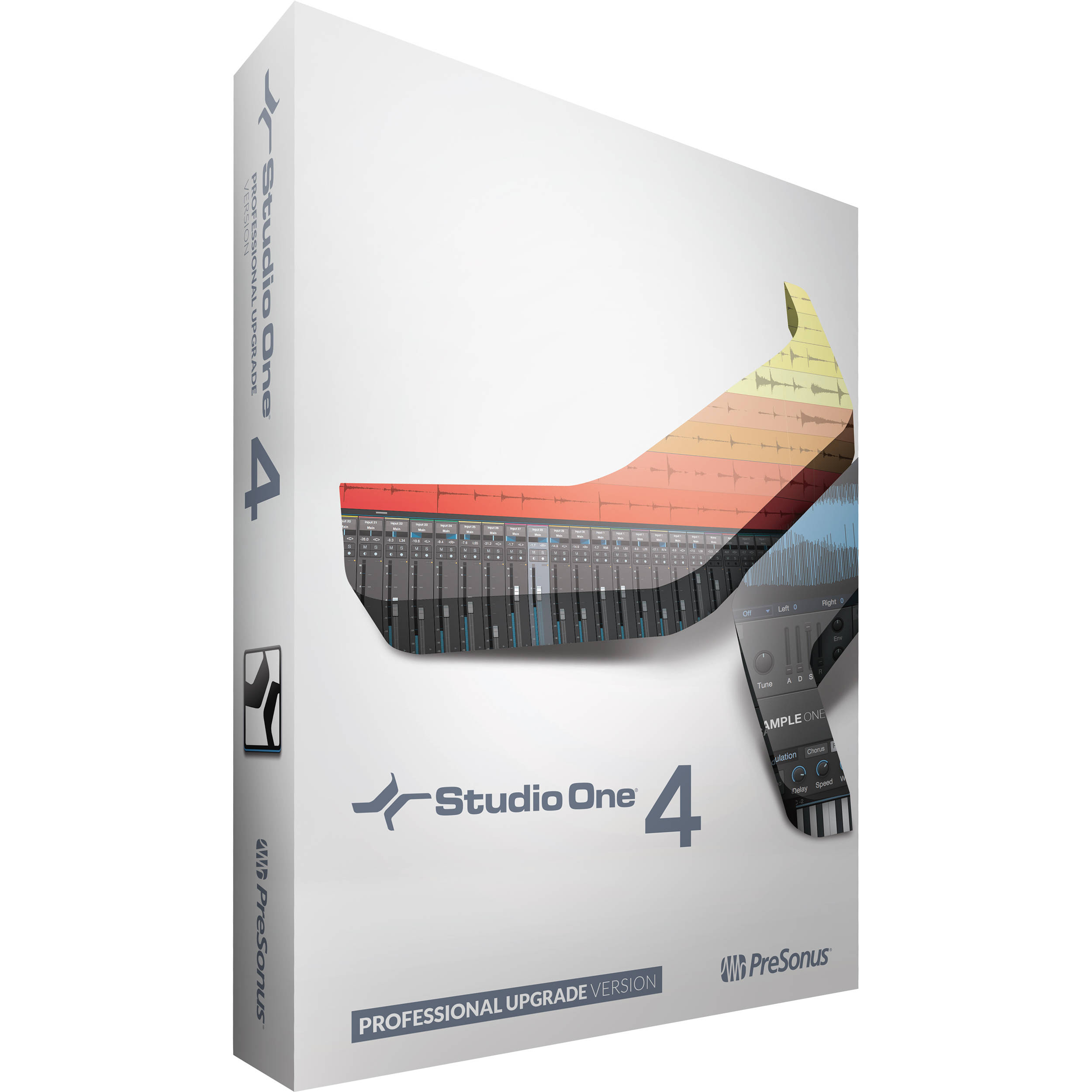 Presonus Studio One 4 Pro Upgrade from Artist//Producer+AKG Mic+ShockMount+Case
