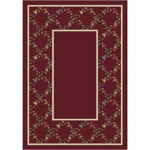 Milliken Design Center Garnet Maiden Area Rug