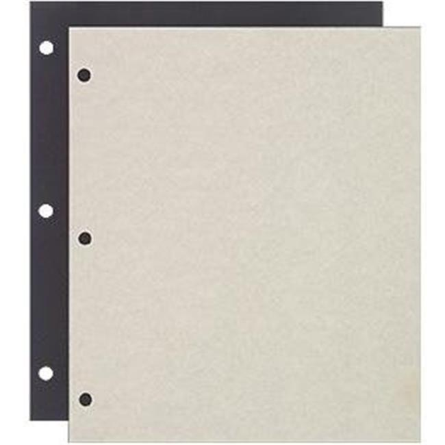 Raika 161-D 3-ring Scrapbook Refill pages - 8.5 x 11 in.