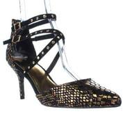 Womens TS35 Dyana Dress Pump Heels - Black Leopard