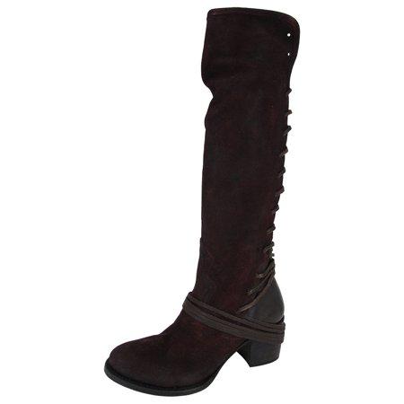 d971b17eb5a672 FREEBIRD - Freebird by Steven Women Coal Over The Knee Riding Boot Shoes -  Walmart.com