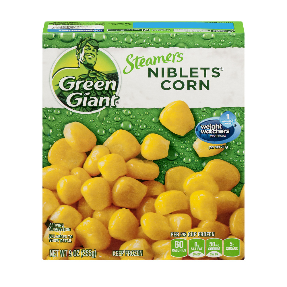 Green Giant Steamers Niblets Corn, 9.0 OZ