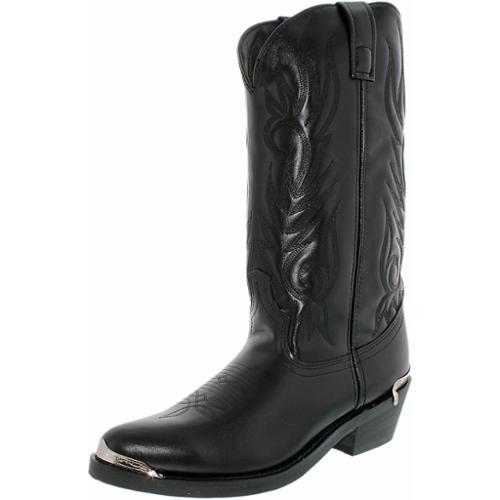 Laredo Western Boots Mens Cowboy McComb Trucker Round Toe Black 12621 by Laredo