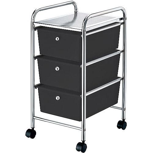 Mainstays 3-Drawer Storage Cart