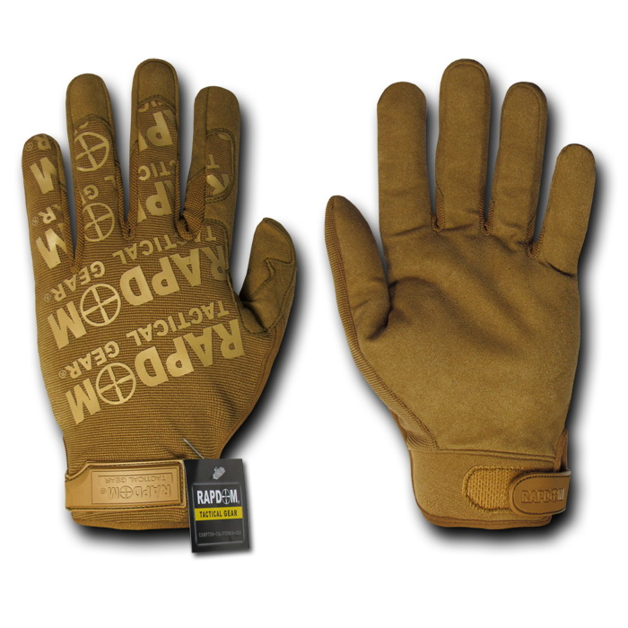 Rapid Dominance T24 - Lightweight Mechanic's Gloves-Coyote-2X
