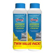 (2 Pack) Glisten Dishwasher Magic Machine Cleaner and Disinfectant, Lemon, 12 Fl Oz