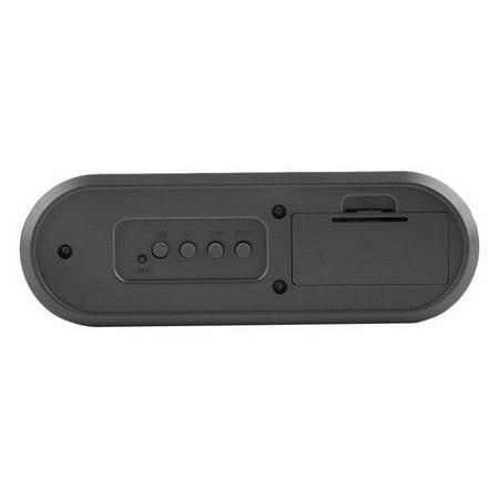 New Desk Digital Alarm Clock Pen Holder Calendar Thermometer Timer Gifts - image 2 de 8
