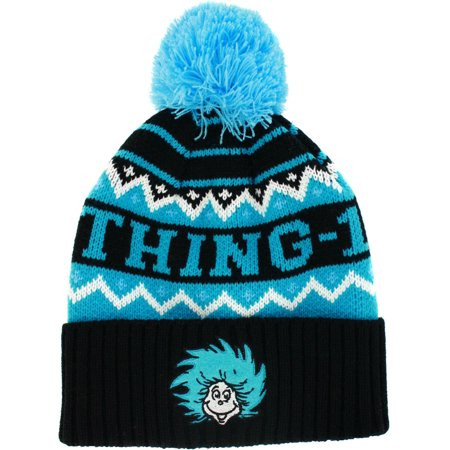 Dr. Seuss Thing 1/Thing 2 Knit Hat](Dr Seuss Scarf)