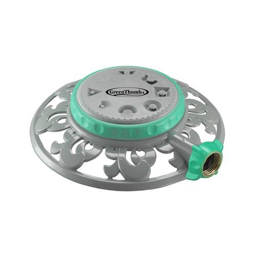 Fiskars Brands 50956GT Sprinkler, Medium Duty, Covers 70-Ft.