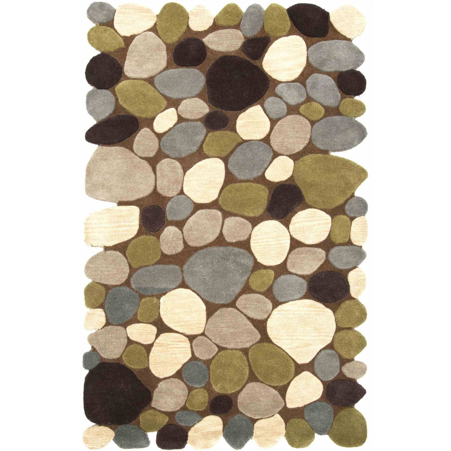 nuLOOM Hand-Tufted Pebbles Area Rug or Runner