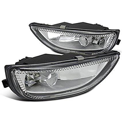 Spec-D Tuning LF-COR01COEM-WJ Toyota Corolla 4Dr Sedan Chrome Clear Driving Fog Lights+Switch
