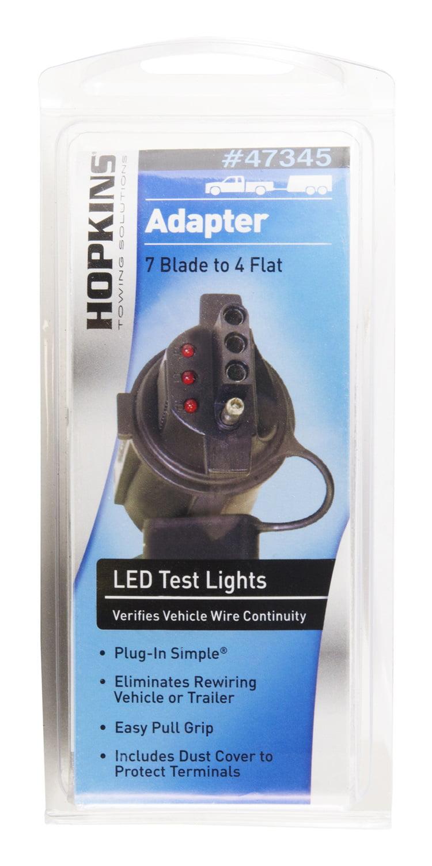 hopkins blade to flat adaptor led test lights com