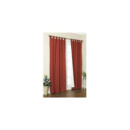 Thermalogic Energy Efficient Insulated Tab Top Window Curtain 84
