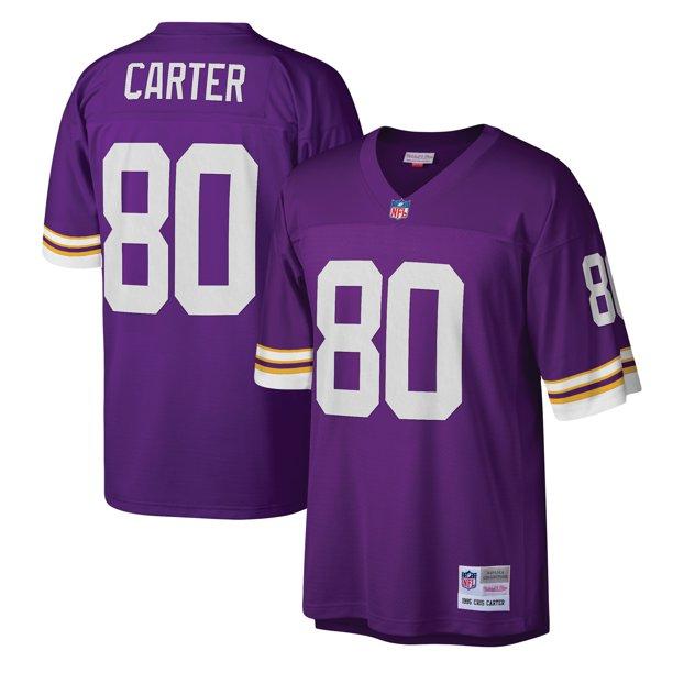 Cris Carter Minnesota Vikings Mitchell & Ness Legacy Replica Jersey - Purple