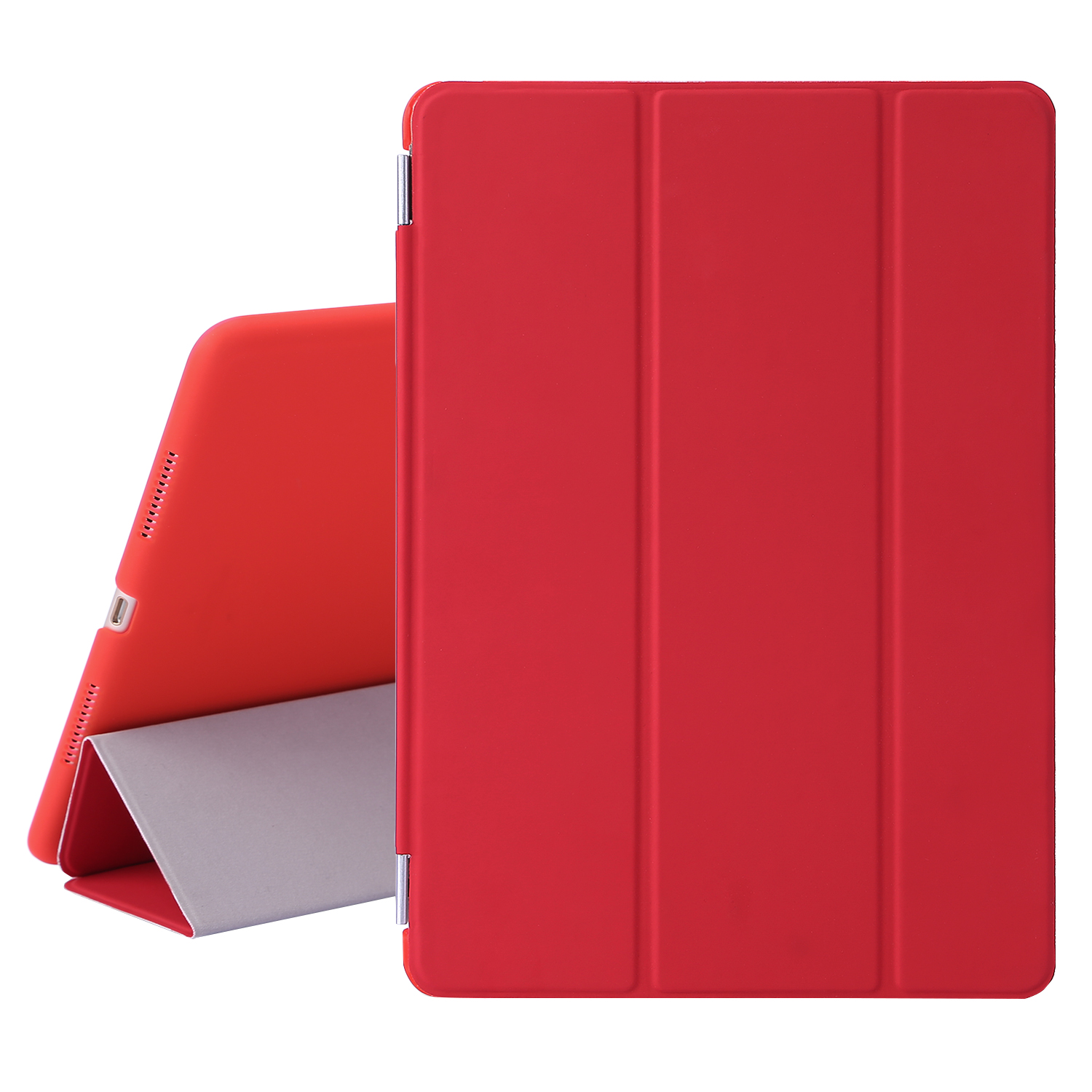 """TKOOFN iPad Case for Apple iPad Pro 9.7"""" Magnetic Leather Ultra Slim Light Weight Trifold Smart Cover"""