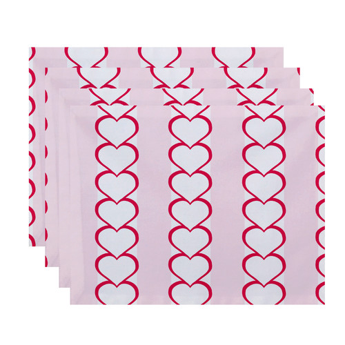 The Holiday Aisle Valentine's Day Placemat (Set of 4)