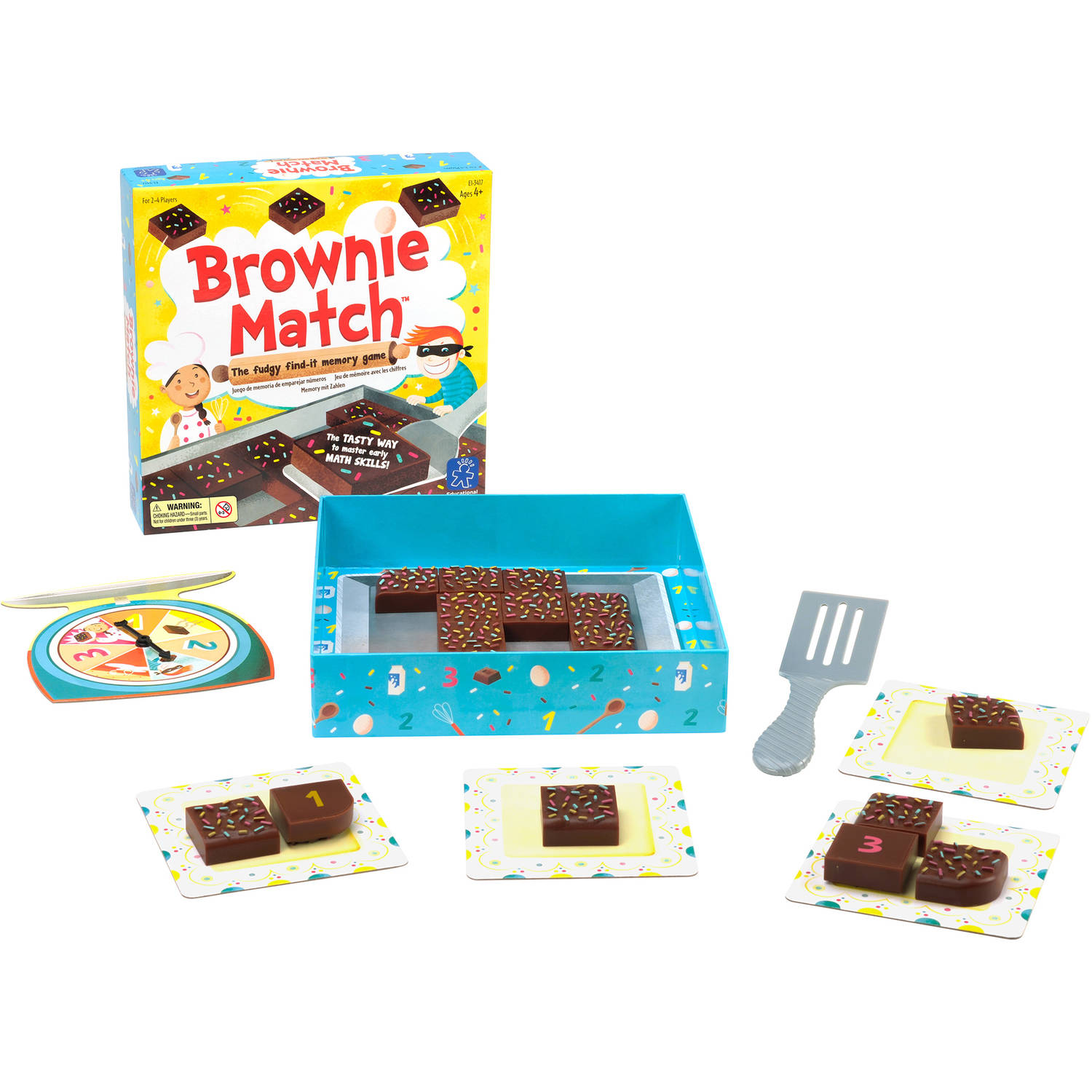 LEARNING RESOURCES Educational Insights Brownie Match Game