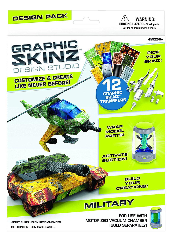 Mega Brands RoseArt Graphic Skinz Design Set Guitars Boy