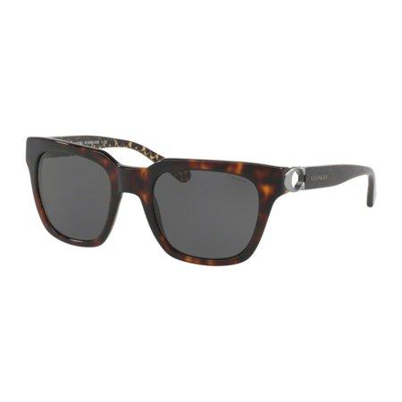 49d386319ec0 Coach - Sunglasses Coach HC 8240 550787 DARK TORTOISE - Walmart.com