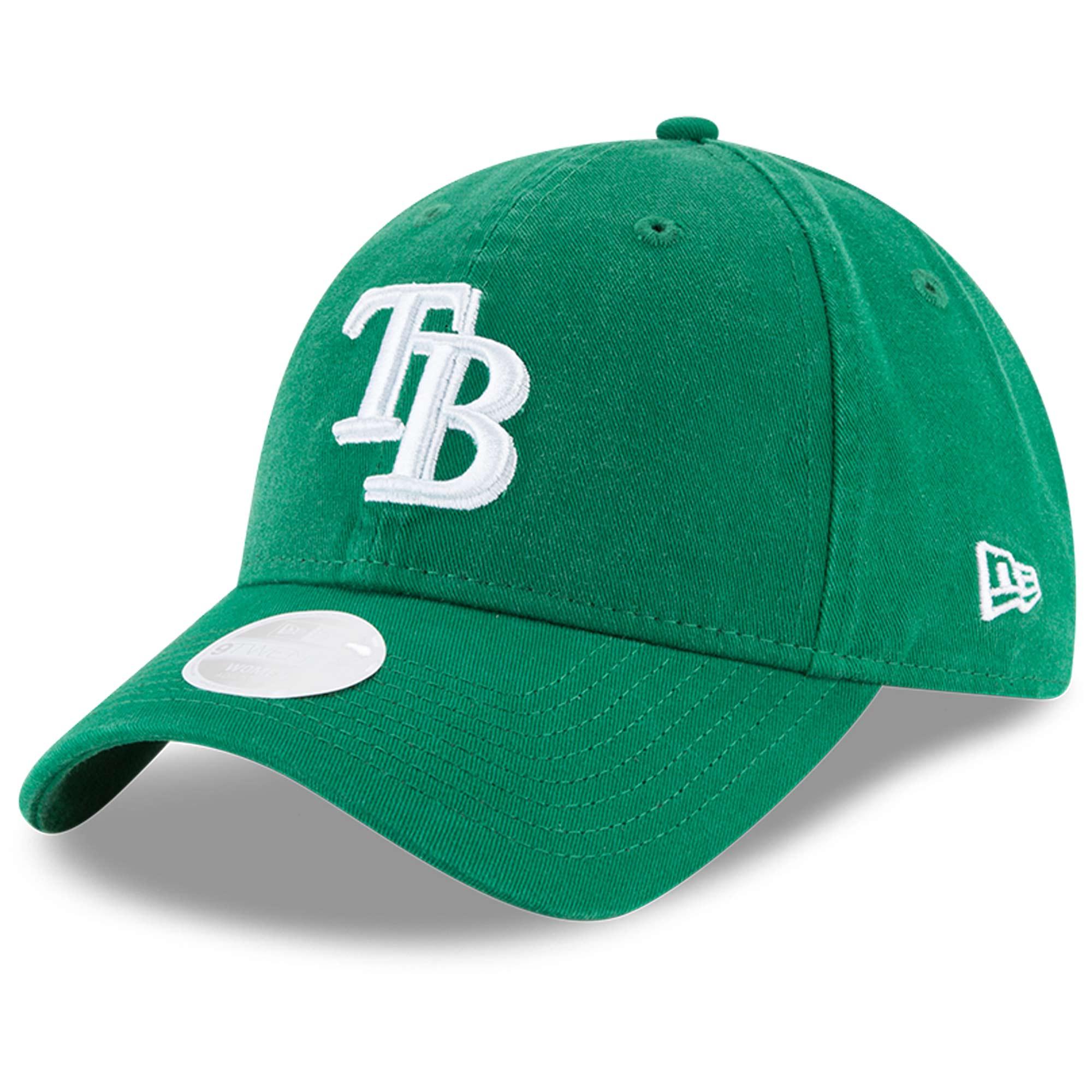 Tampa Bay Rays New Era Women's Core Classic Twill St. Patrick's Day 9TWENTY Adjustable Hat - Green - OSFA