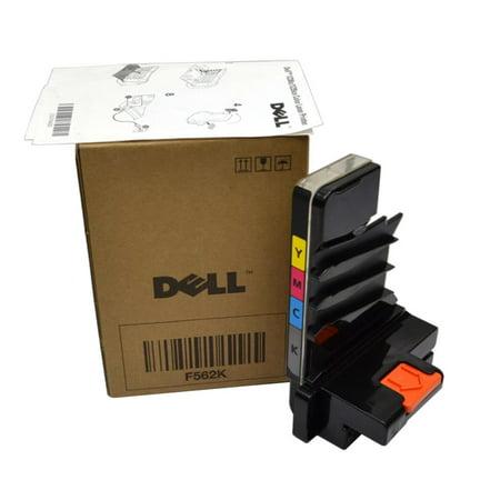 F562K 0F562K CN-0F562K Genuine Dell 1230C Color Laser Printer 12500 Page Waste Toner Container US Printer Parts & Maintenance Kits ()