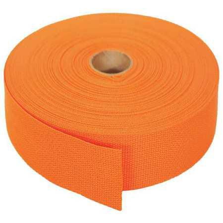 BULK-STRAP P15102OR Bulk Strap Webbing,102ft x 1-1/2In,750lb