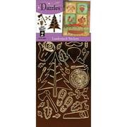 Dazzles Stickers-lumber Jack-brown