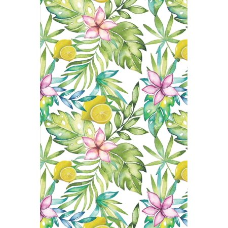 Discreet Password Book : Never Forget a Password Again! 5.5 X 8.5 Tropical Flower Watercolor Design, Small Password Book with Tabbed Large Alphabet, Pocket Size Over 340 Record User and (The Best Password Manager)