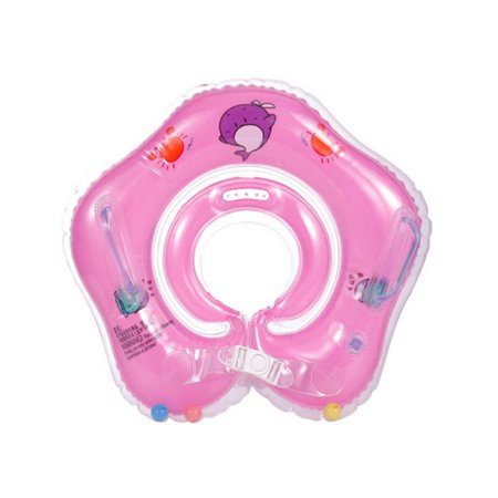 Baby Accessories Inflatable Baby Swimming Ring Float Ball Pool Accessories for 1-18 Months Baby Kids or Pets ()