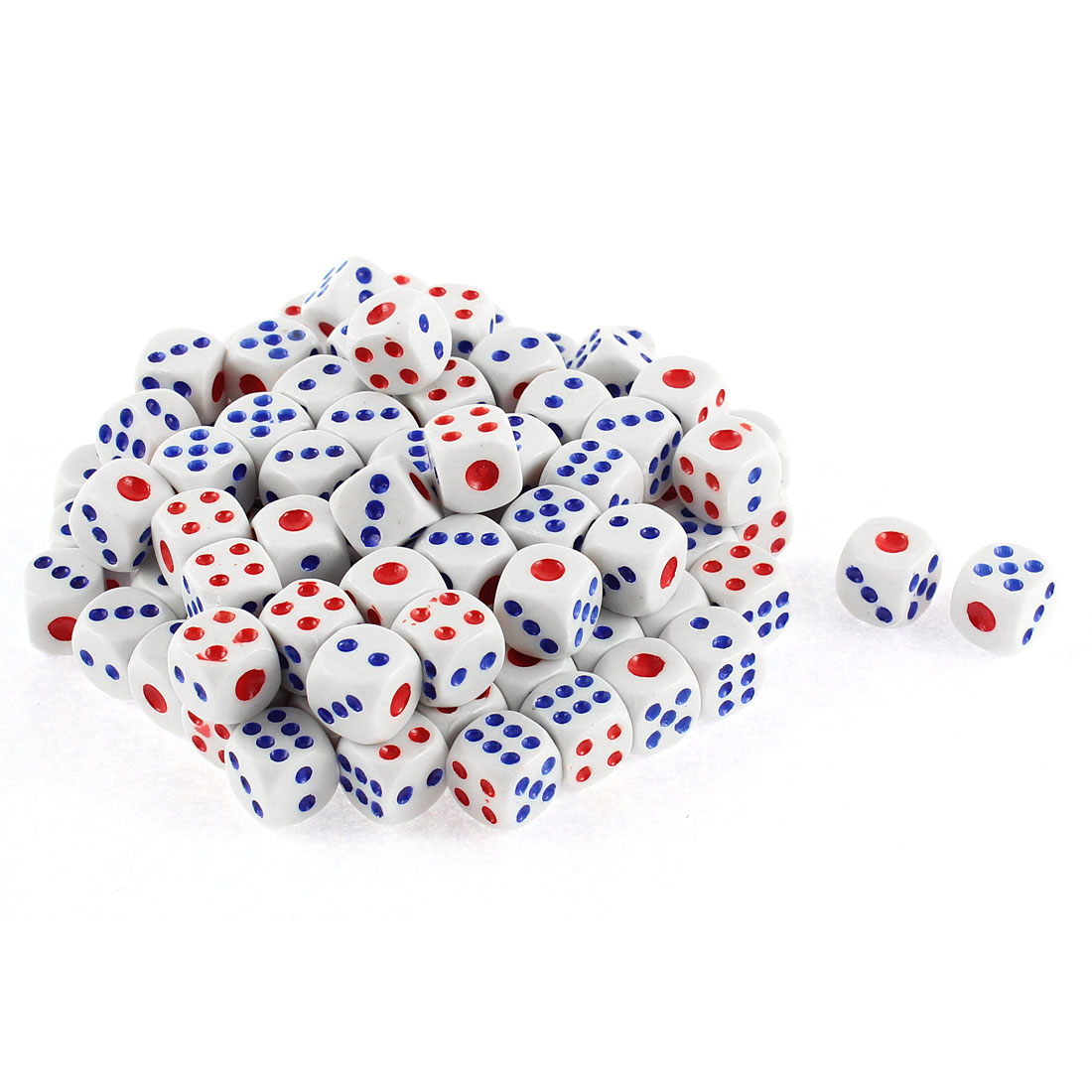 Unique Bargains Game Dices 100 Pcs