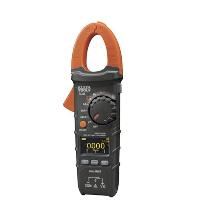 Digital Clamp Meter,Auto-Ranging,400A AC KLEIN TOOLS CL330 ()