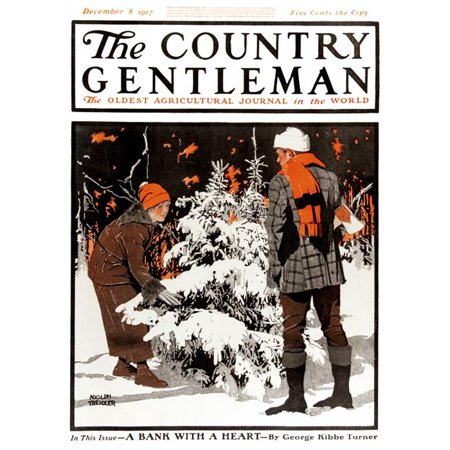 Posterazzi DPI12272470 Cover of Country Gentleman Agricultural Magazine From The Early 20th Century Poster Print - 13 x 17 in. - image 1 de 1