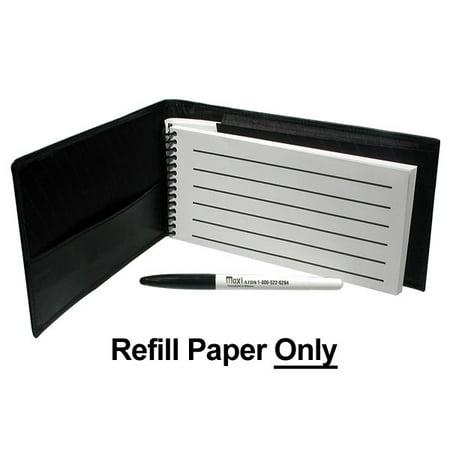 Refill for Reizen Pocket Low Vision Notebook-25-pk ()