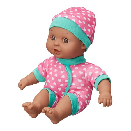 "My Sweet Love 8"" Mini Soft Baby Doll, African American"