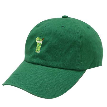 City Hunter C104 Mojito Cotton Baseball Dad Cap 19 Colors (Kelly Green)