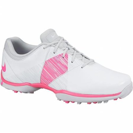 New Womens Nike Delight V Lady Golf Shoes White Pink Platinum  Choose Your Size
