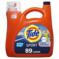 Tide Plus Febreeze Odor Defense HE, 89 Loads Liquid Laundry Detergent, 138 fl oz