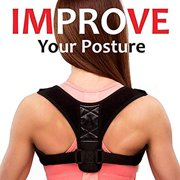 Posture Corrector & Back Support Brace for Women and Men by Amoldar, Figure 8 Clavicle Support Brace is Ideal for Shoulder Support, Upper Back & Neck Pain Relief