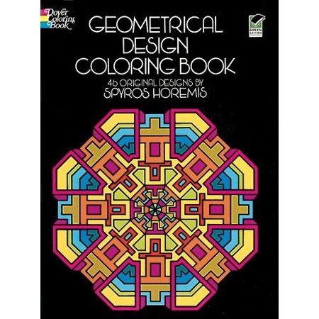 Dover Design Coloring Books: Geometrical Design Coloring Book ...