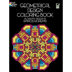 Dover Design Coloring Books Geometrical Colorin
