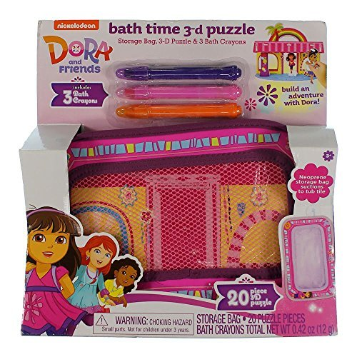 Dora & Friends Bath Time 3d Puzzle by By Dora and Friends by